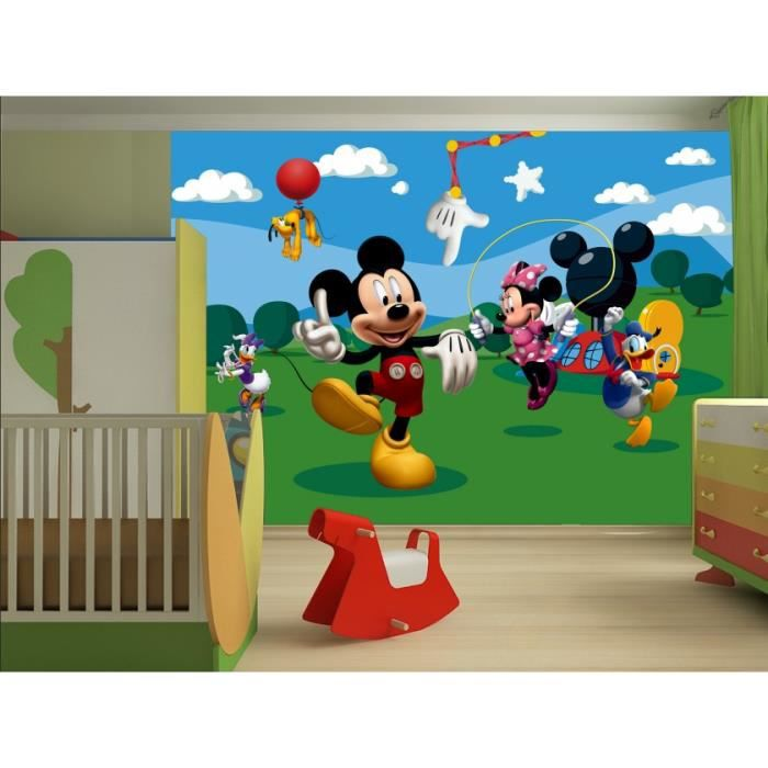 mickey poster papier peint xxl 360 x 254 cm achat. Black Bedroom Furniture Sets. Home Design Ideas