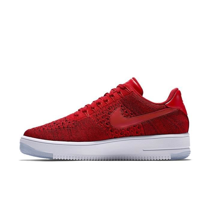 8cc902c3b40 Basket Nike Air Force 1 Ultra Flyknit Low - 817419-600 Rouge Rouge ...