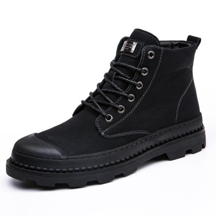 YLG XZ3023 Portable en Respirant boots Noir Pas size38 bottine Durable Cher d'outillage Marron homme 45 pu 354RLcAqj