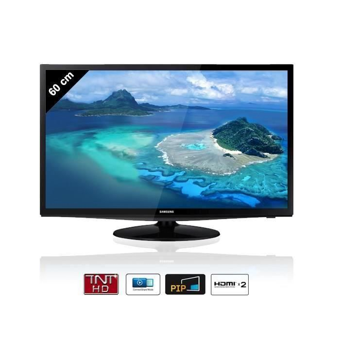 destockage samsung t24d310 moniteur tv tnt hd 23 6. Black Bedroom Furniture Sets. Home Design Ideas