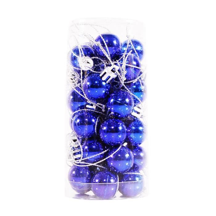 Lot de 30 pcs Boules de Noël Diam. 20 mm   Decoration de l'arbre