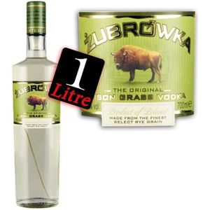 VODKA Zubrowka Vodka 1 litre