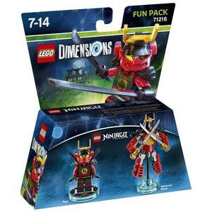 FIGURINE DE JEU Figurine LEGO Dimensions - Nya - LEGO Ninjago