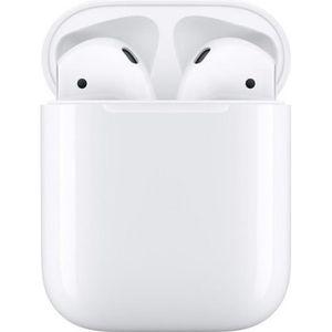 CASQUE - ÉCOUTEURS Apple Airpods V2 écouteurs avec étui