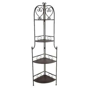 etagere d 39 angle tablette fer forge charme achat vente meuble tag re etagere d 39 angle. Black Bedroom Furniture Sets. Home Design Ideas