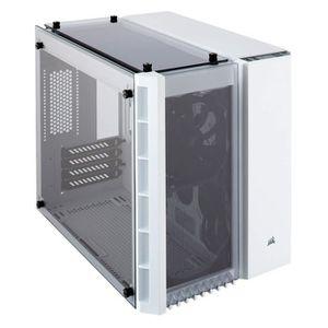 BOITIER PC  Corsair Crystal 280X Boîtier de PC (Micro ATX Verr