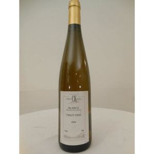 VIN BLANC pinot gris koehly blanc 2004 - alsace france