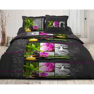 drap plat imprime 2 personnes 140 achat vente drap. Black Bedroom Furniture Sets. Home Design Ideas