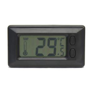 THERMOMÈTRE - BAROMÈTRE Thermomètre Intérieur de la Température LCD Digita
