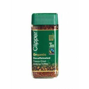 CAFÉ Gel instantané Clipper Fairtrade Organic café déca