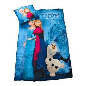 HOUSSE DE COUETTE ET TAIES Parure de Lit La Reine des Neiges - Frozen - Disne