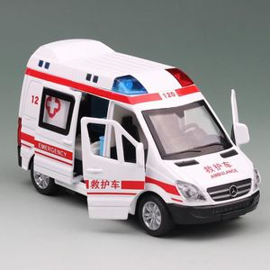 VOITURE - CAMION Alliage Ambulance Voiture Jouets (# 8909B) taille