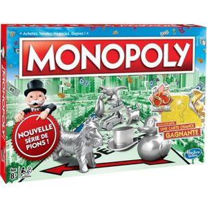 JEU SOCIÉTÉ - PLATEAU Monopoly Classique - Jeu de societe - Jeu de plate