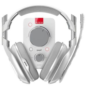 CASQUE AVEC MICROPHONE ASTRO Casque Gaming A40 TR + Mixamp Pro TR Blanc -