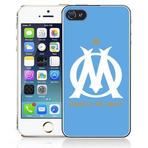 coque iphone 5c om marseille bleu