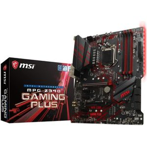 CARTE MÈRE Carte mere MSI MPG Z390 Gaming Plus, Intel Z390  -