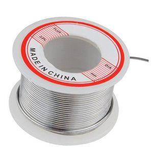 2x 100 G 1.0mm 60//40 Étain Câble Fil de Soudure Colophane Noyau 2/% Bobine Flux