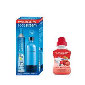 MACHINE À SODA Pack SODASTREAM Cylindre CO2 60L - 1 bouteille PET