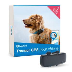 TRACTIVE Traceur GPS chien Collier gps chien Léger et