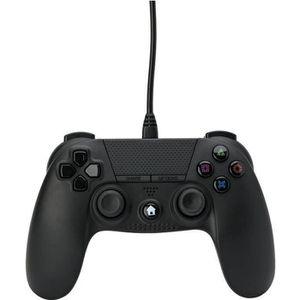 MANETTE JEUX VIDÉO Manette filaire Noire 3m Under Control pour PS4