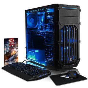 UNITÉ CENTRALE  VIBOX Pyro GLR7TX-351 PC Gamer Ordinateur avec Jeu