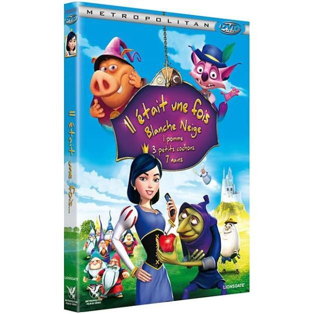 dvd il tait une fois blanche neige 1 pomme 3 en dvd. Black Bedroom Furniture Sets. Home Design Ideas