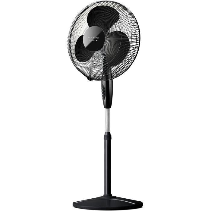 TAURUS Greco 16CR Elegance - Ventilateur sur pied - 40 watts - Diamètre 40 cm - 3 vitesses - Silencieux