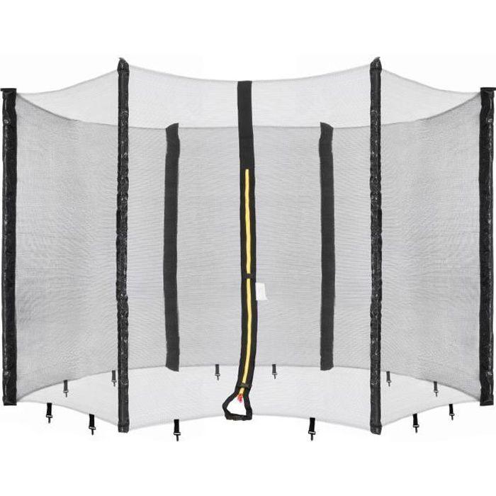 AREBOS Filet de Sécurité pour Trampoline 6 Poteaux 490 cm