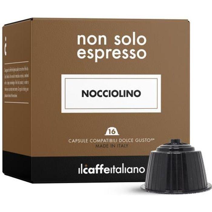 48 capsules compatible Nescafé Dolce Gusto - Noisette - Il Caffè Italiano