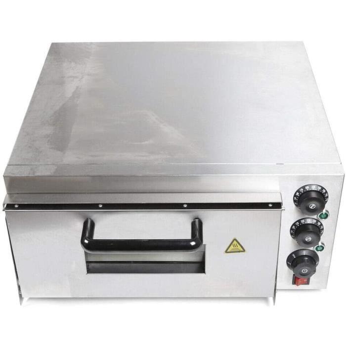 Four à pizza de haute qualité en acier inoxydable, four à pizza monocouche 2000 W, a été développé pour les restaurants