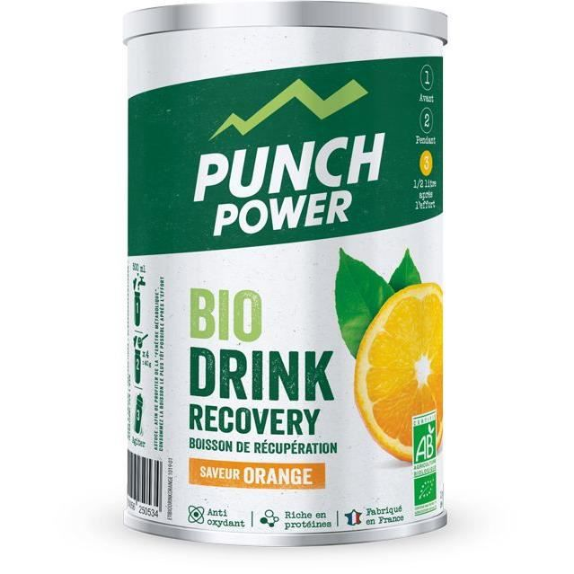 PUNCH POWER BIODRINK RECOVERY ORANGE - POT 400G