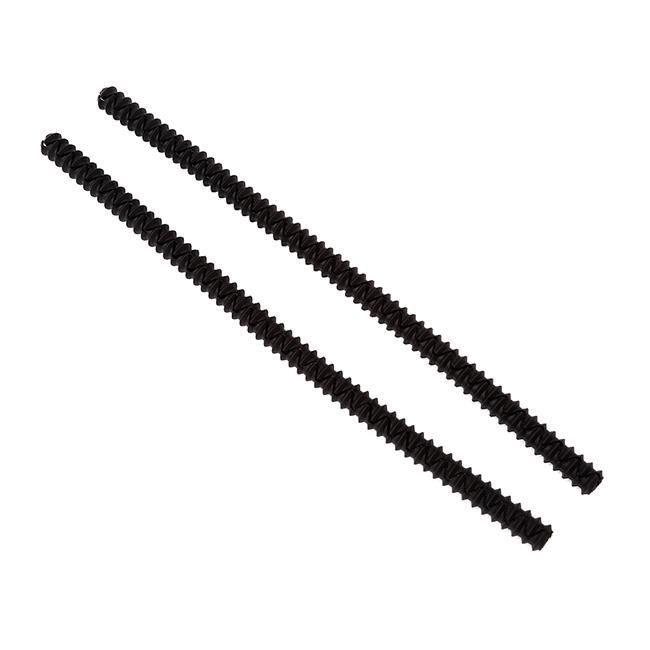 2 pièces-ensemble Silicone four grille gardes verrouillage Silicone haute température Protection four étagère bord - Type black #B