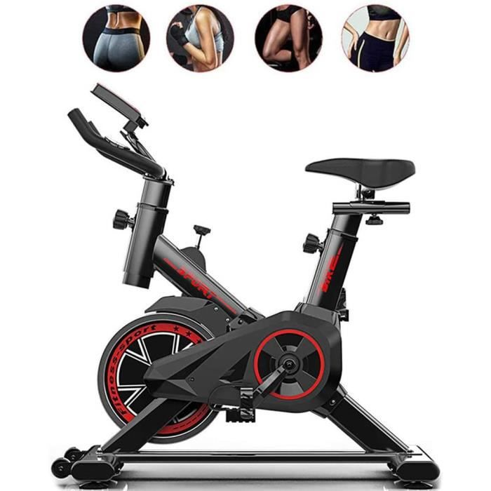 QIMO Spinning Bicycle, Indoor Cycling Bike Vélo d'appartement Sports Exerc Bike Home Multi-Function Pedal Fitness Equipment194