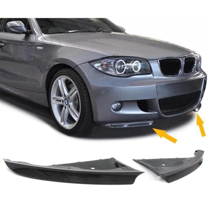 LAMES SPLITTERS EN CARBONE POUR PARE CHOCS BMW SERIE 1 E81 et E87 (04556)