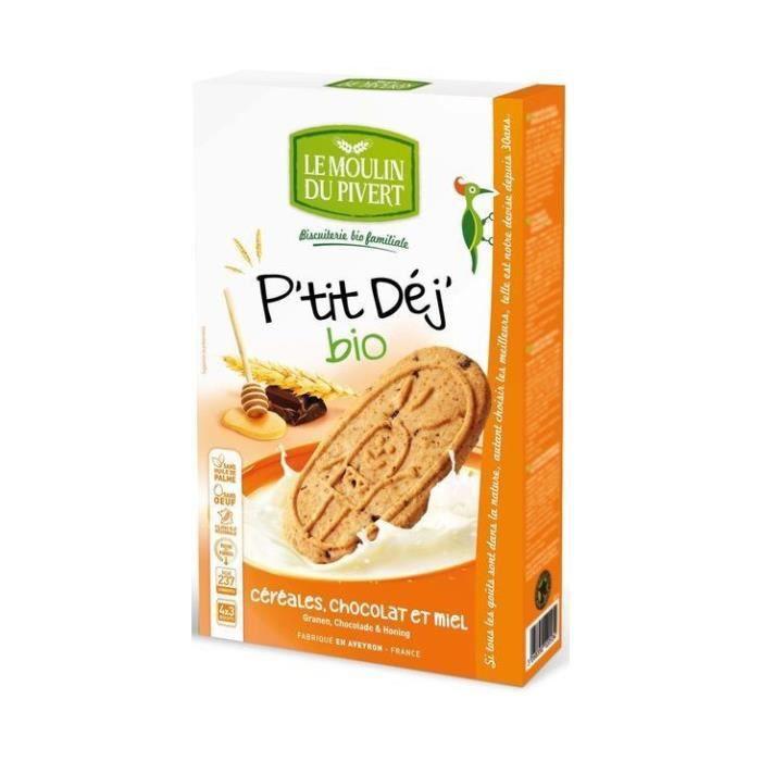 P'tit déj céréales miel & chocolat 190gr