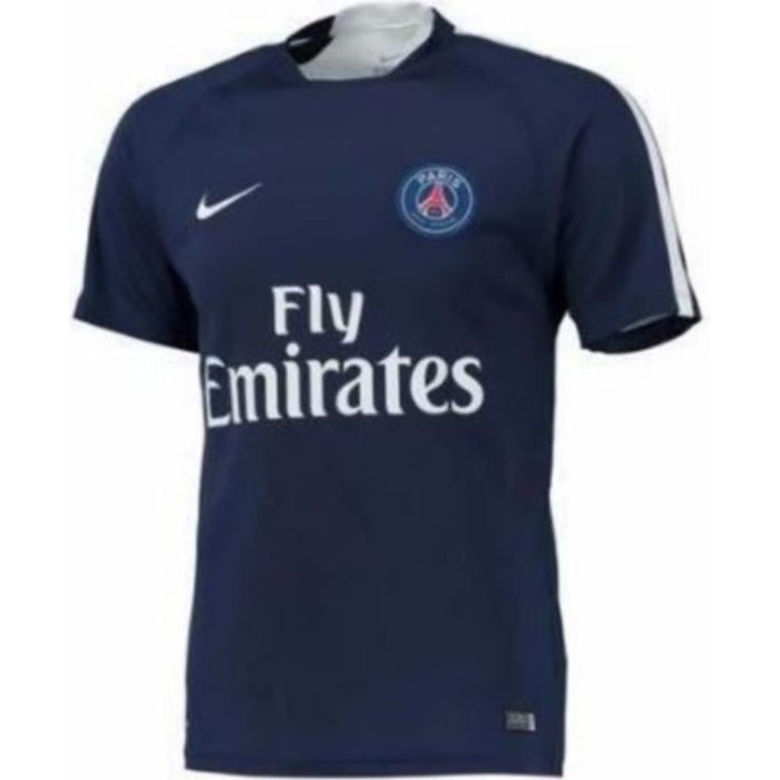 Maillot D'entrainement Collector Homme Nike Paris Saint-Germain PSG Saison 2015 2016 Bleu