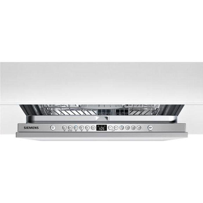 Lave-vaisselle tout intégrable 60cm SIEMENS SN636X01AE