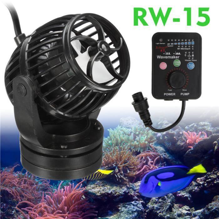 Jebao 13000L/H 40W Vague Onde Pompe Brassage Réglable Poisson Aquarium Wavemaker