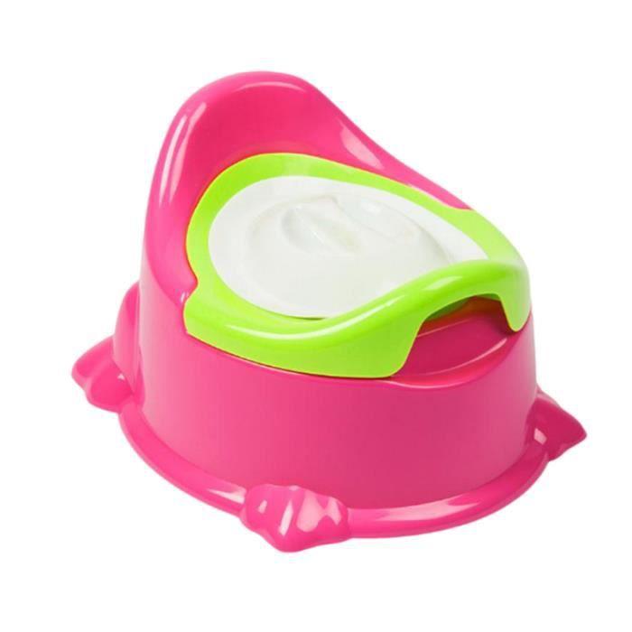 Siège de toilette en pour bébé avec pot amovible facile à nettoyer (Rouge) REDUCTEUR DE WC