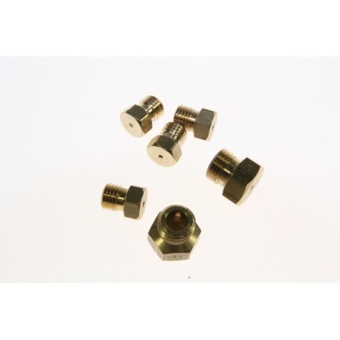 SACHET INJECTEURS GAZ DE VILLE pour plaque de cuisson WHIRLPOOL 699935 - 857620629000 ACM206BB ACH - BVMPièces
