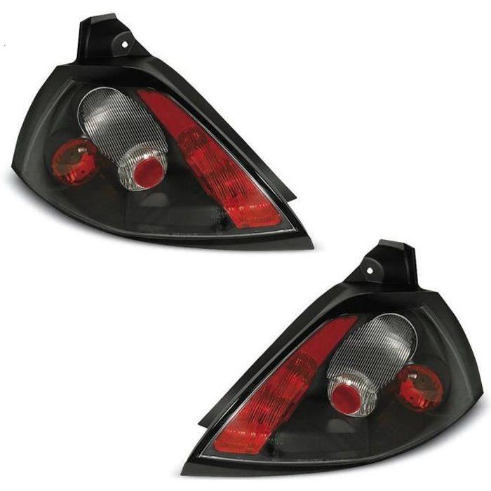 Kit réparation platine porte ampoule feu arriere gauche+droit Megane 1 phase 2