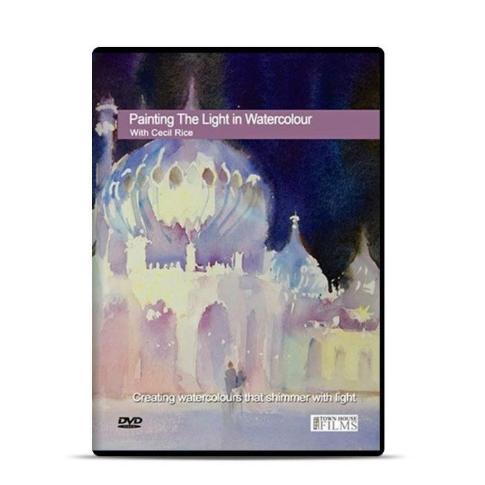 DVD DOCUMENTAIRE Maison de ville DVD: Peinture de la lumière à l'aq