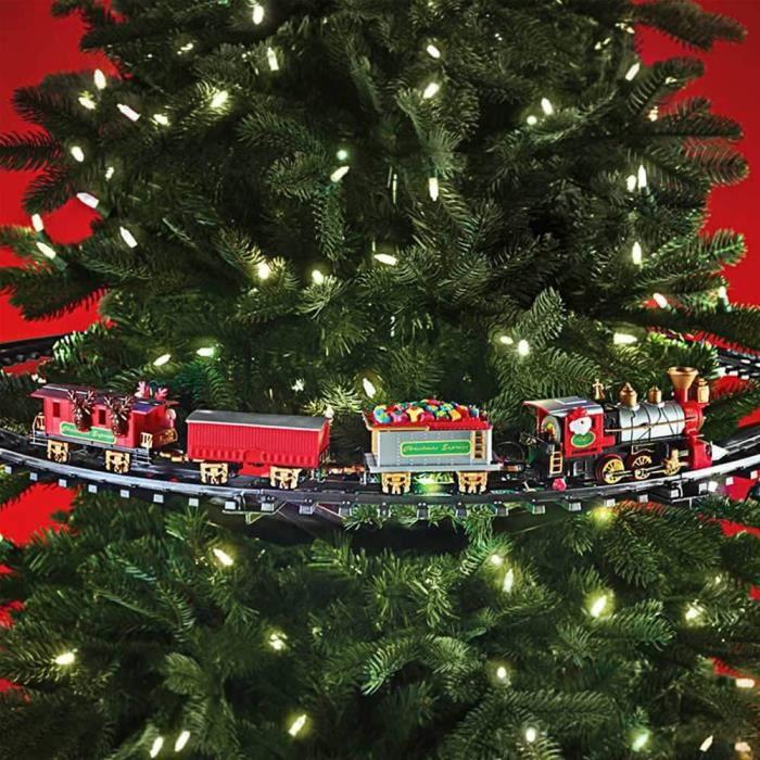 Train Sapin De Noel Rails et Train à Accrocher à un Sapin de Noël   Cadeau Maestro