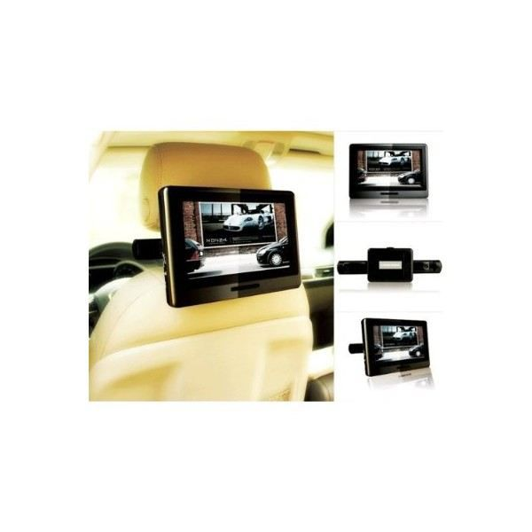 lecteur dvd portable double ecran voiture 9 pouces valdiz. Black Bedroom Furniture Sets. Home Design Ideas