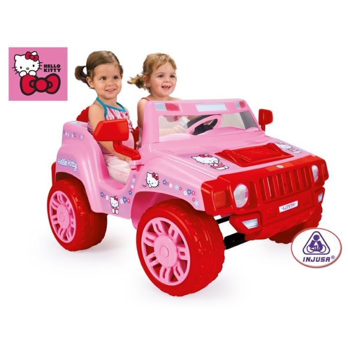 hello kitty voiture electrique enfant pick up 12 volts achat vente voiture enfant cdiscount. Black Bedroom Furniture Sets. Home Design Ideas