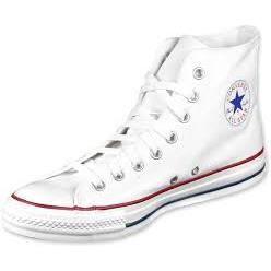 Converse all star haute blanche