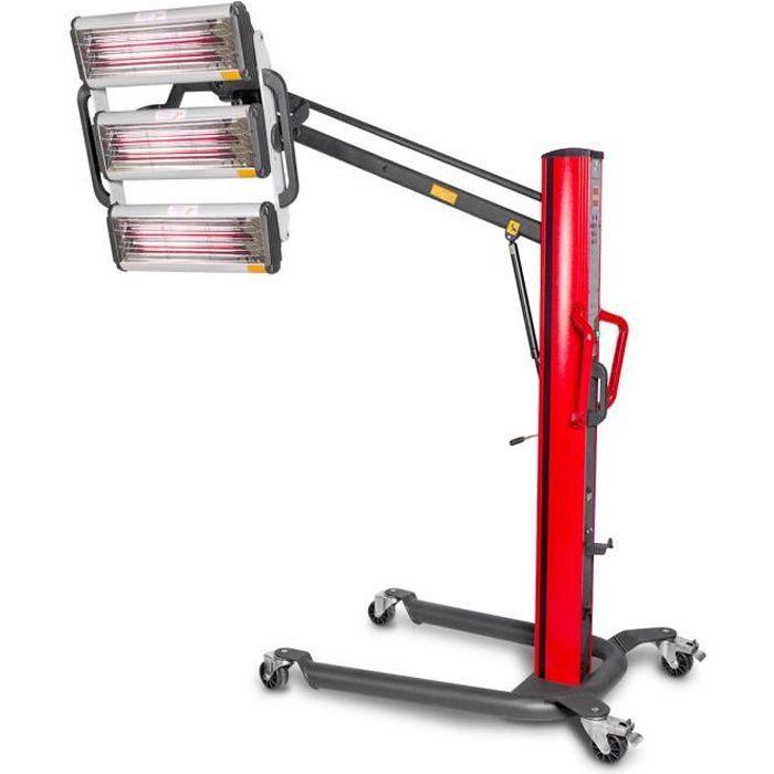 AÉRATION Sécheur de peinture infrarouge professionnel mobil