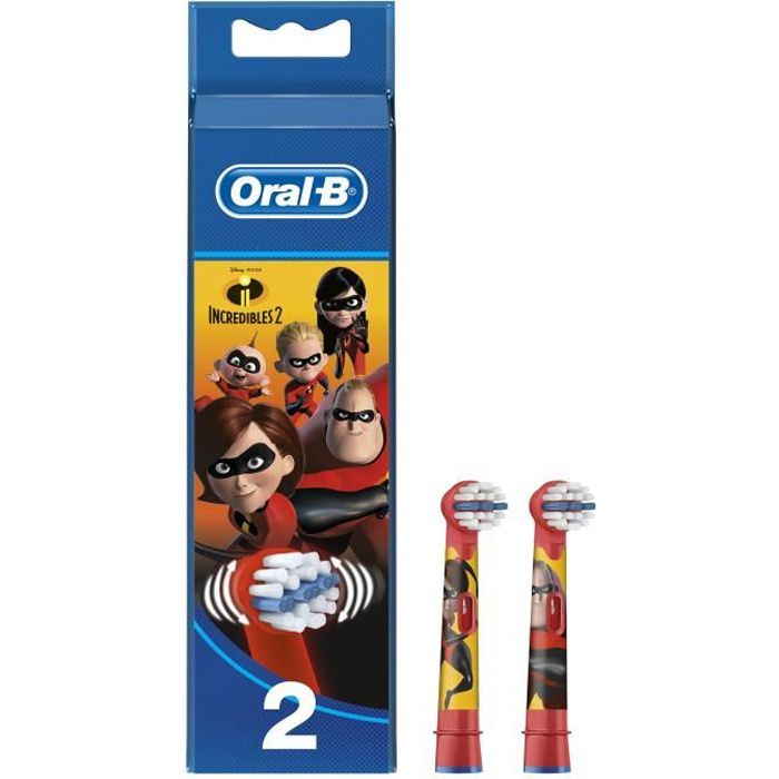BROSSETTE Oral-B Stages Brossettes avec personnages Incredib