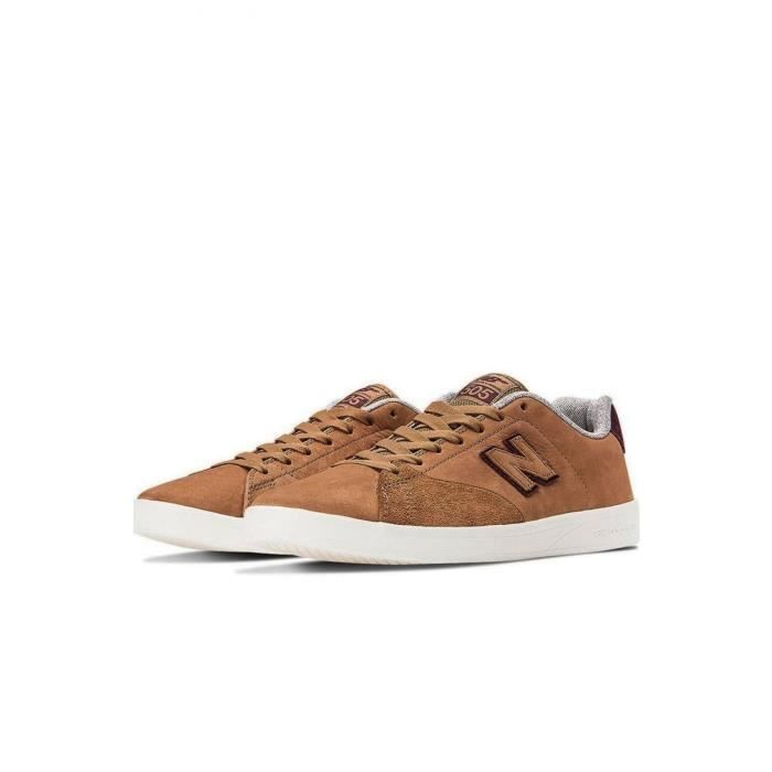 Suédé Baskets Cuir Nm505cls En Balance New gyCEqUAw