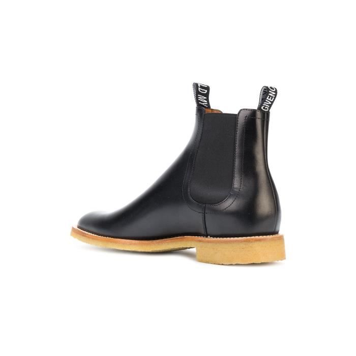 GIVENCHY HOMME BH6008H00L001 NOIR CUIR BOTTINES